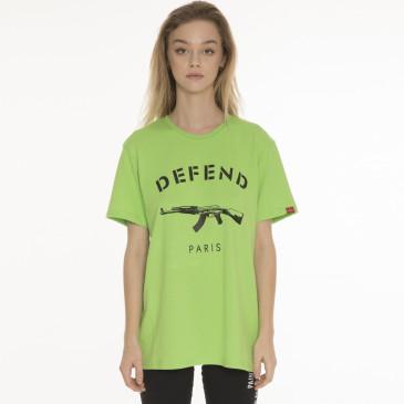 T-shirt PARIS TEE NEON GREEN