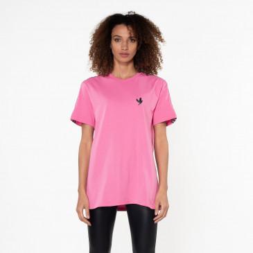 T-shirt TEE DAMIER PINK