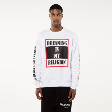 Sweatshirt TO BE WEISS