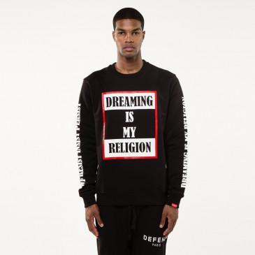 Sweatshirt TO BE SCHWARZ