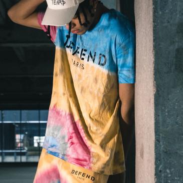 T-shirt ARTEMIS DEFEND TEE-YELLOW