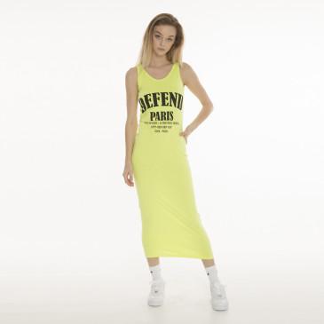 Dress BERENICES YELLOW