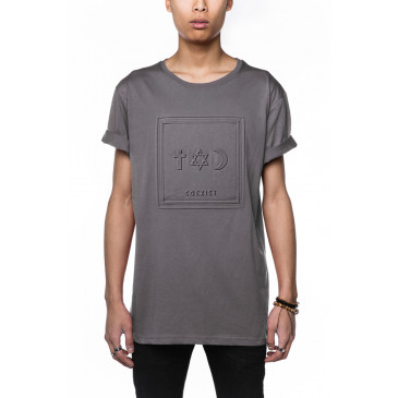 T-shirt CO ALFRED GREY