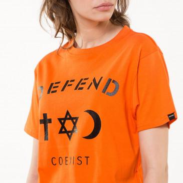 T-shirt CO TEE ORANGE