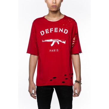 T-shirt PARIS JACQUES RED