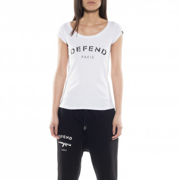 T-shirt DEFEND BASIC WHITE