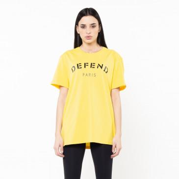 T-shirt DEFEND TEE YELLOW