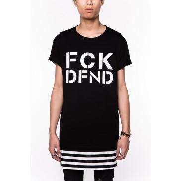 T-shirt GUY BLACK