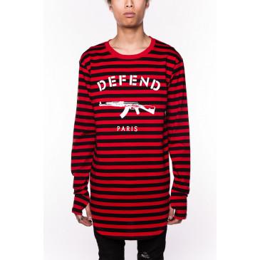T-shirt PARIS DENIS RED