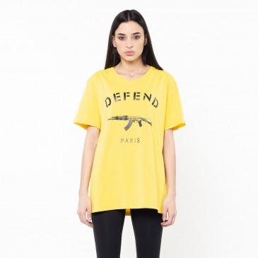 T-shirt PARIS TEE GIALLA