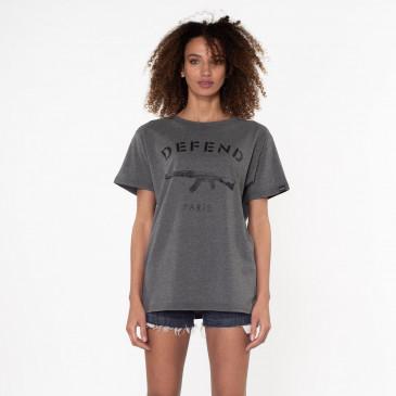 T-shirt PARIS TEE GRIGIA