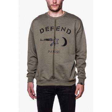 Sweatshirt REMO KAKI
