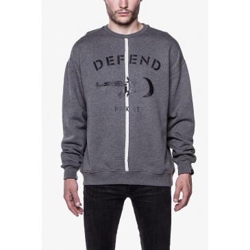 Sweatshirt REMO GREY