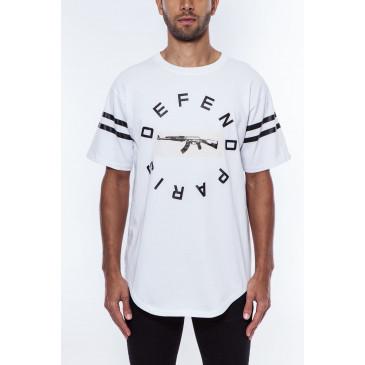 T-shirt STRIP TEE WHITE