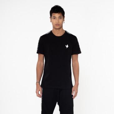 T-shirt TEE DAMIER BLACK