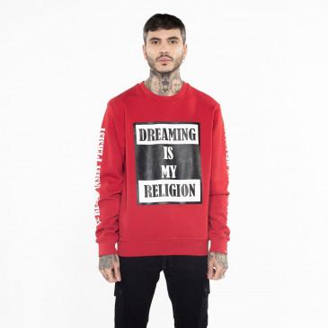 Sweatshirt TO BE RED