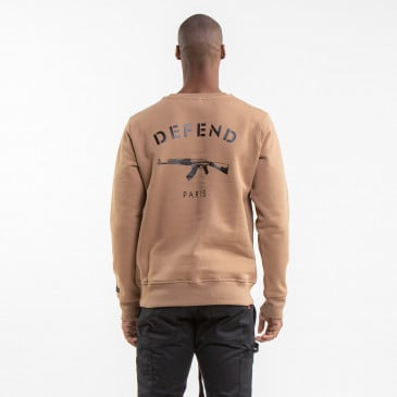 ICONIC SWEATSHIRT PARIS CARAMEL