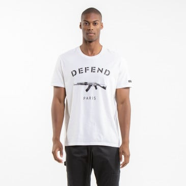 ICONIC T-SHIRT EASY PARIS OFF-WHITE